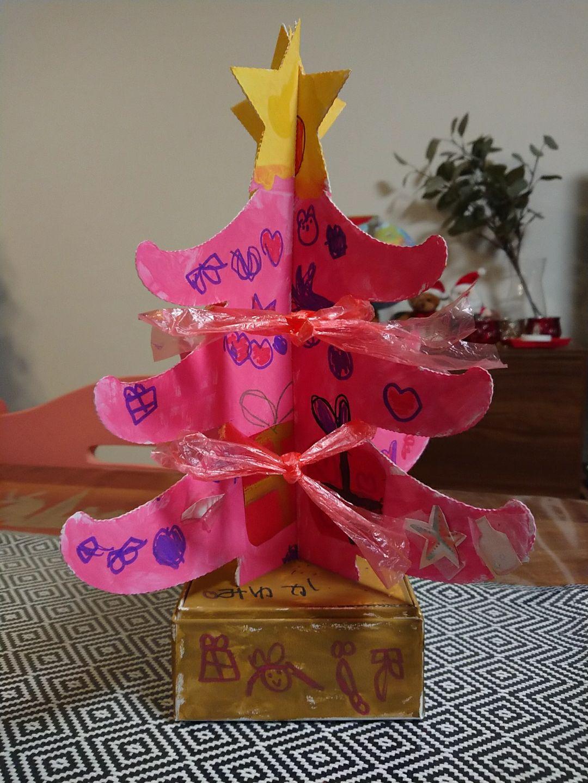 京都府紙器段ボール箱工業組合クリスマスツリーデザインコンテストキュン賞