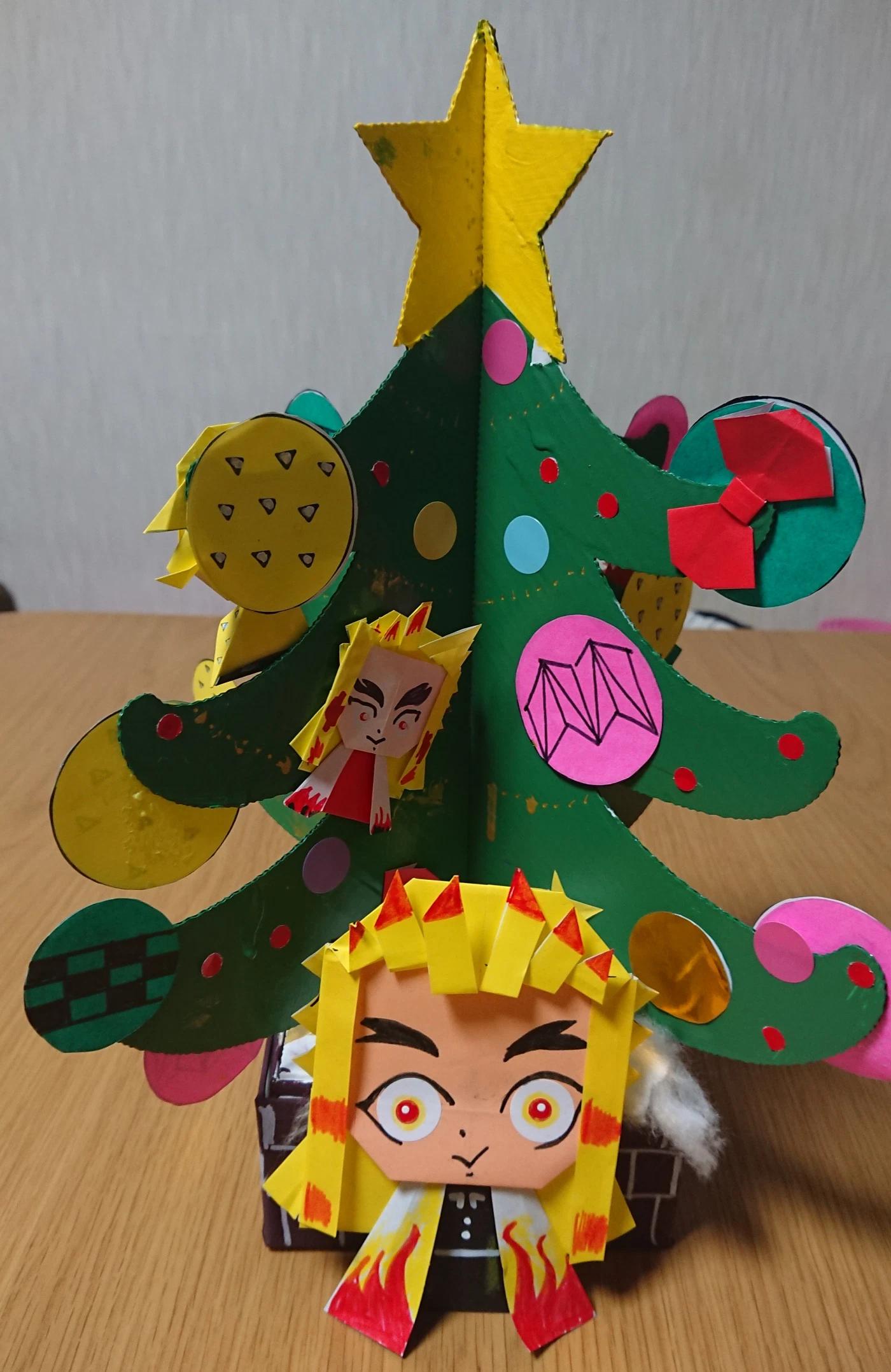 京都府紙器段ボール箱工業組合クリスマスツリーデザインコンテスト映え賞